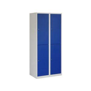 Garderobekast 4 deuren 80 cm Breed met Verdeling Schoon/Vuil